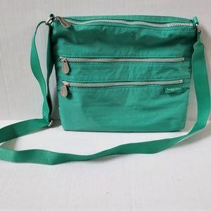 Baggallini 4 Zipper Large Crossbody Bag Purse